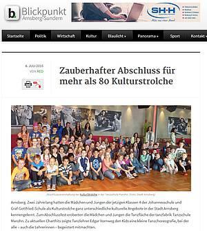 Zauberhafter Abschluss für mehr als 80 Kulturstrolche