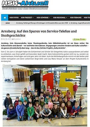 Auf den Spuren von Service-Telefon und Stadtgeschichte